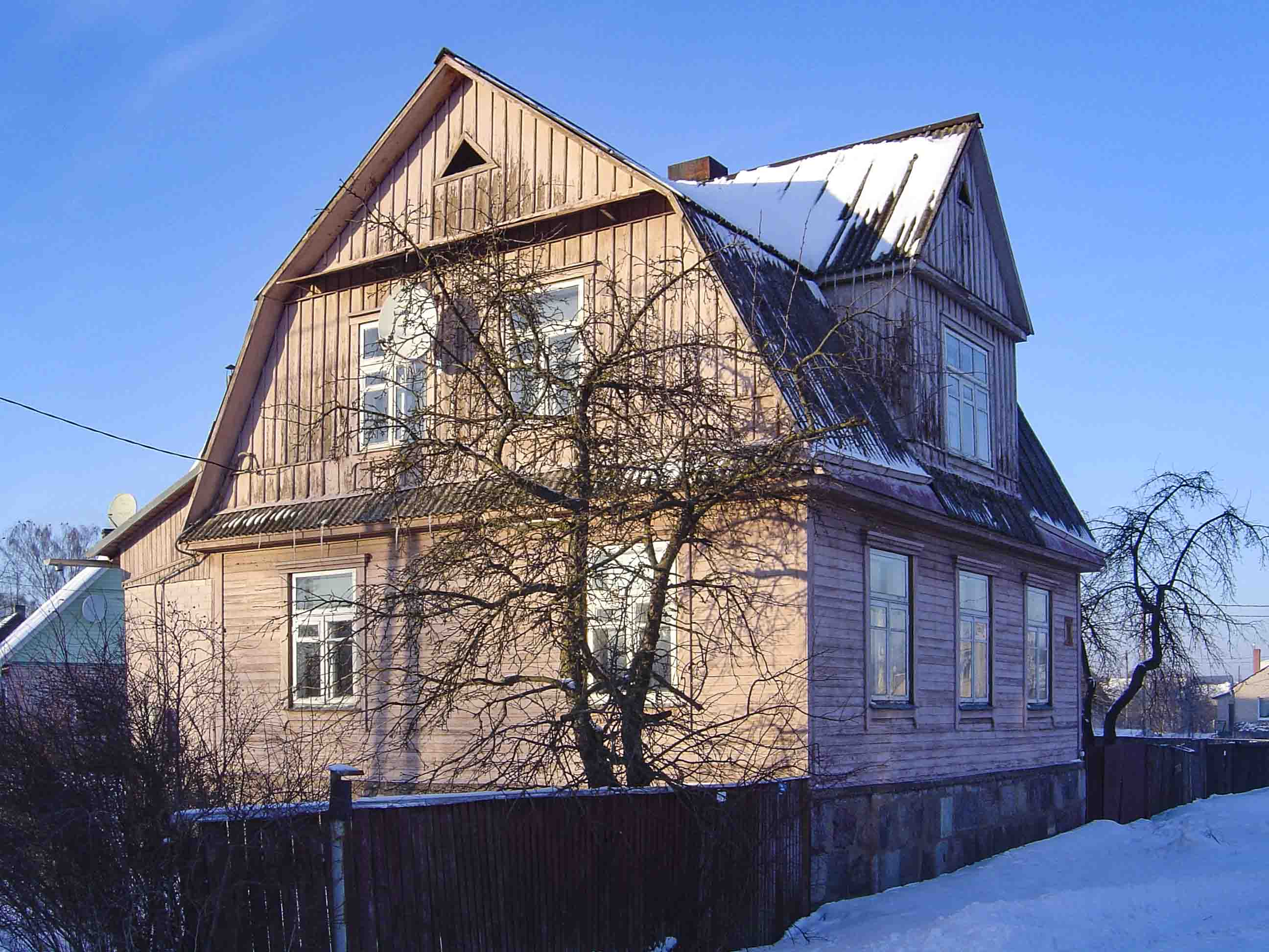 daugavpils wood houses