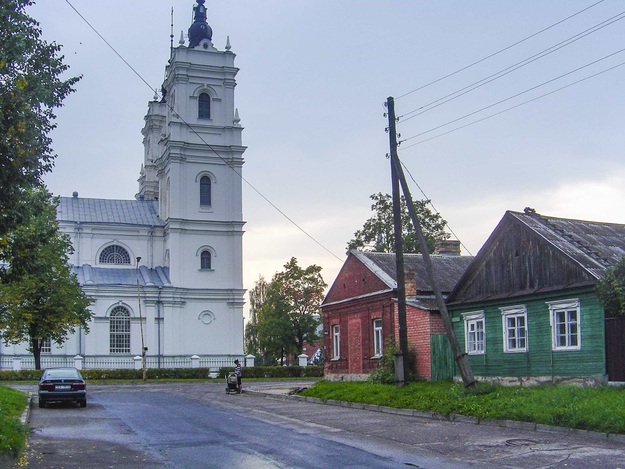 Daugavpils: église catholique