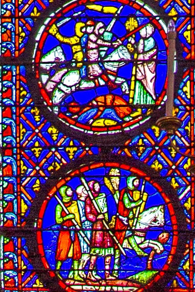 Sainte-Chapelle- (Higher Chapel) - stained glasses