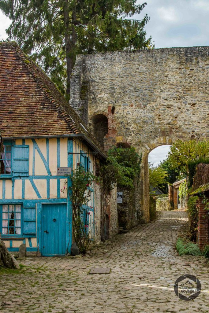 fortification, maisons anciennes, colombages,